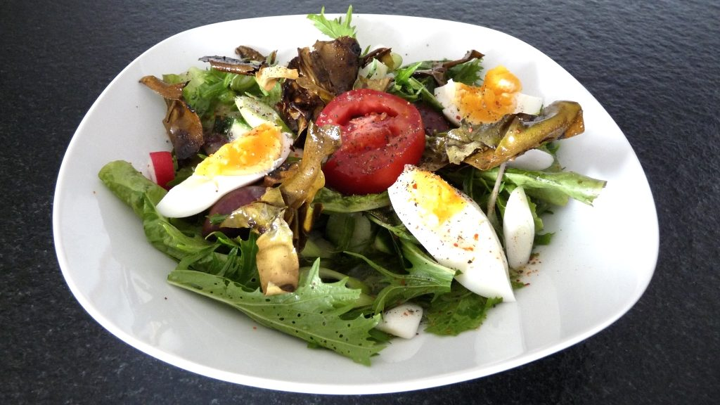 Salat mit Dulse