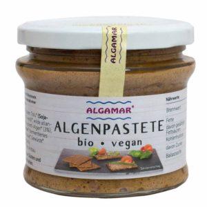 Die Algenpastete ist bio und vegan