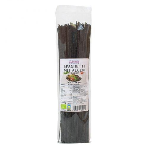 Vollkorn-Spaghetti mit Algen