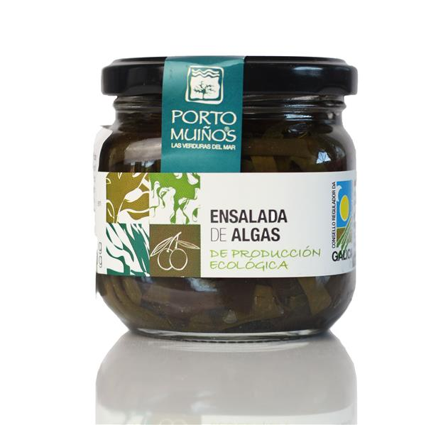 Algensalat in Olivenöl