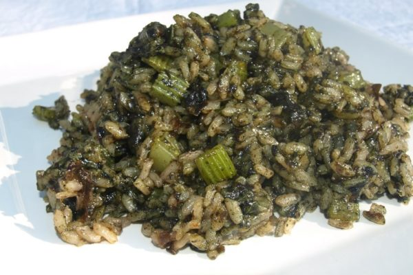 Dulse-Chlorella-Risotto