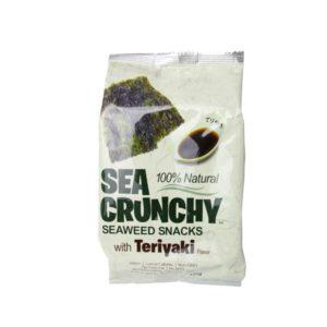 Nori Snack mit Teriyaki Geschmack 300x300 - Sea Crunchy - Nori Snack mit Teriyaki-Geschmack - 10 g