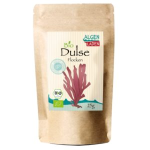 Dulse Flakes 300x300 - ALGENLADEN BIO Dulse Flakes - 25g