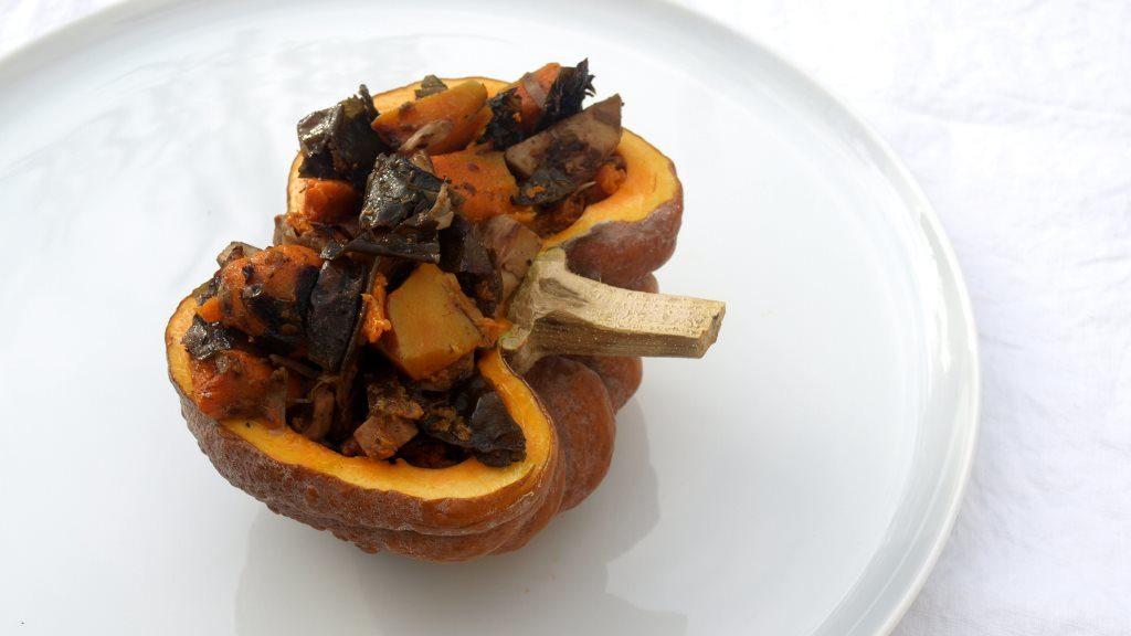 Wakame-Kürbis-Curry mit Jackfruit