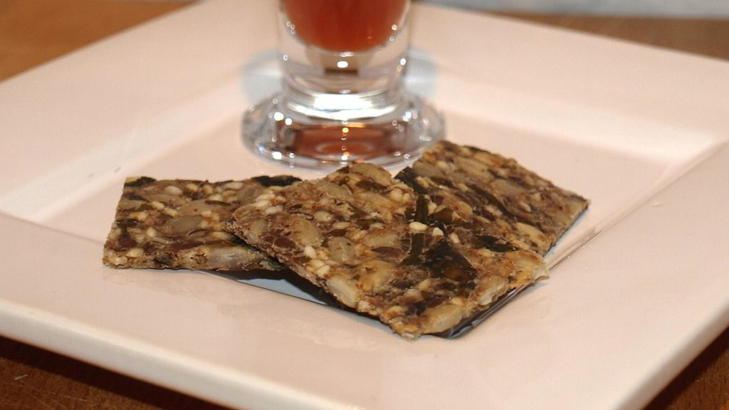 Saaten-Knusper-Cracker mit Alaria