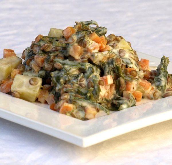 Linsen-Salat für Klimafreunde