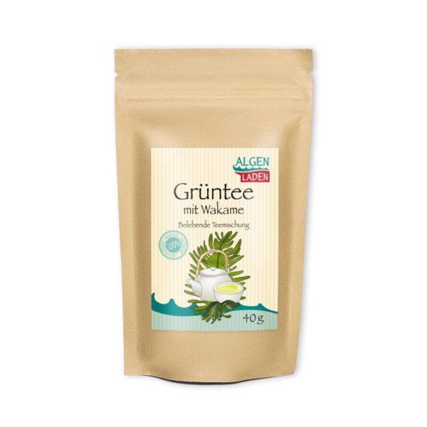 Grüner Tee mit Wakame